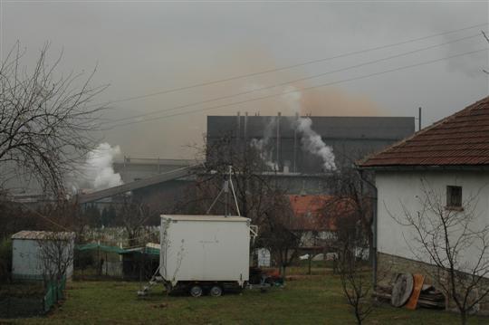 Mobilna stanica za mjerenje kvaliteta zraka UNZE u Tetovu